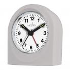 acctim Palma Grey Alarm Clock