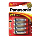 Panasonic AA (LR6) Pro Power Batteries - 4 Pack