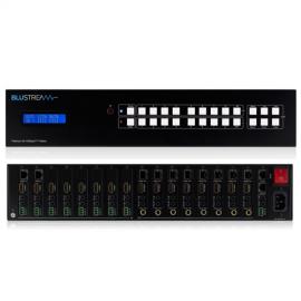 Blustream PLA88ARC-V2 Platinum 8 x 8 HDBaseT™ Fully-Featured AV Matrix - 100m (4K up to 70m)