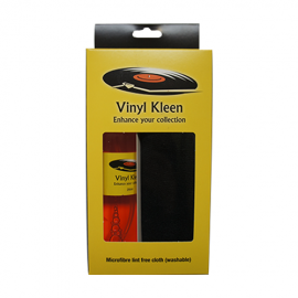 Vinyl Kleen UK Produced Pro Record Cleaning Fluid and Large HQ Microfibre Cloth