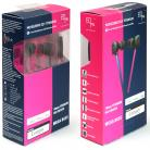 EOps NOISEZERO X2+ TITANIUM In-ear with Remote and Mic MAGENTA