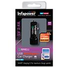 Infapower P035 2400mA Qualcomm 2.0 USB Intelligent Car Charger